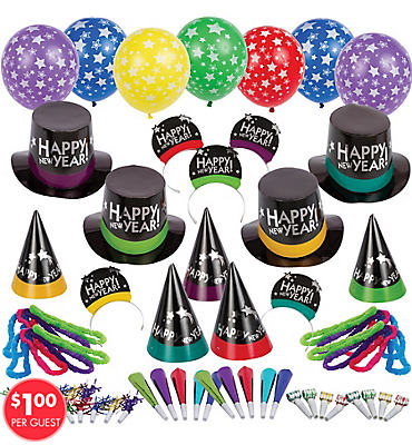 Jewel Simply Stated New Years Party Kit For 100