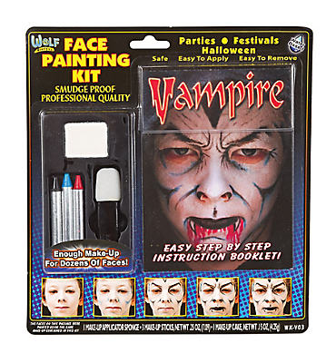 Vampire Face Painting Kit