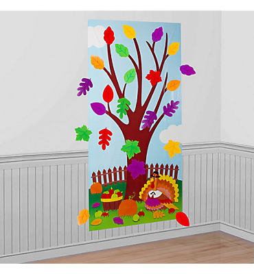 Thanksgiving Tree Activity Kit 31pc