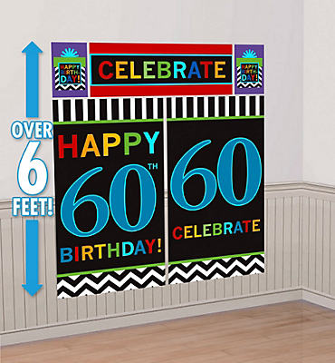 Celebrate 60th Birthday Scene Setter