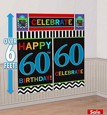 Celebrate 60th Birthday Scene Setter