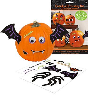 Cute Halloween Pumpkin Decorating Kit