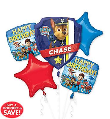 PAW Patrol Balloon Bouquet 5pc