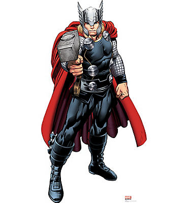 Thor Life-Size Cardboard Cutout - Avengers