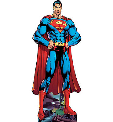 Superman Life-Size Cardboard Cutout