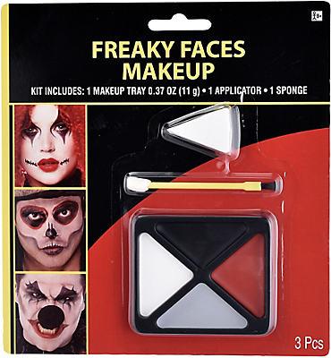 Freaky Face Makeup Kit 3pc