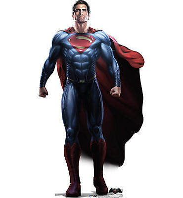 Superman Life Size Cardboard Cutout - Batman v Superman: Dawn of Justice