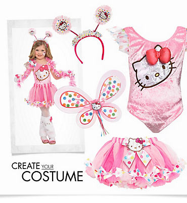 Girls' Pink Hello Kitty