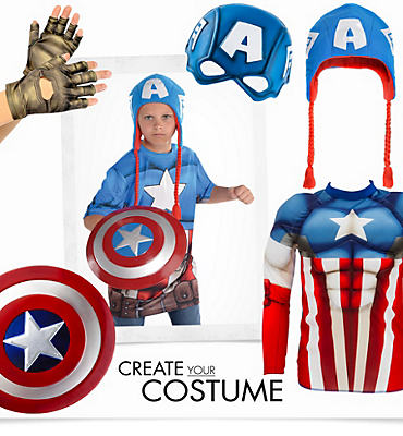 Boys' Captain America