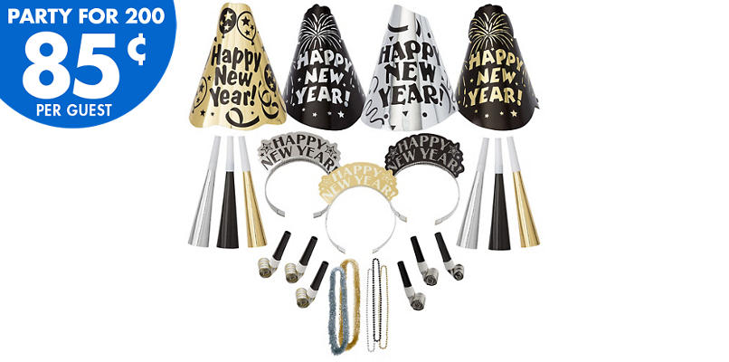 Kit For 200 - Fantasy New Year's Party Kit