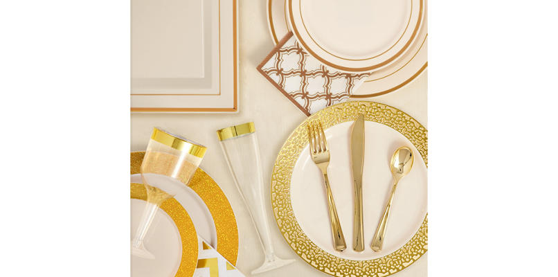 Cream Gold Premium Tableware