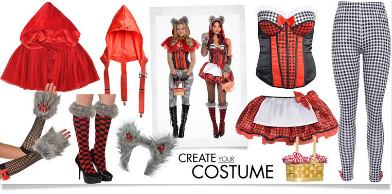 Women's Little Red Riding Hood Wolf