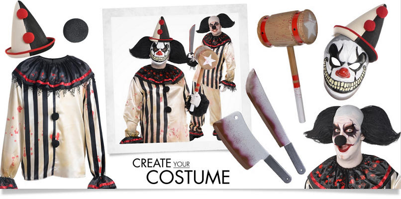 Clown Costume Accessories - Clown Wigs, Noses & Shoes - Party City