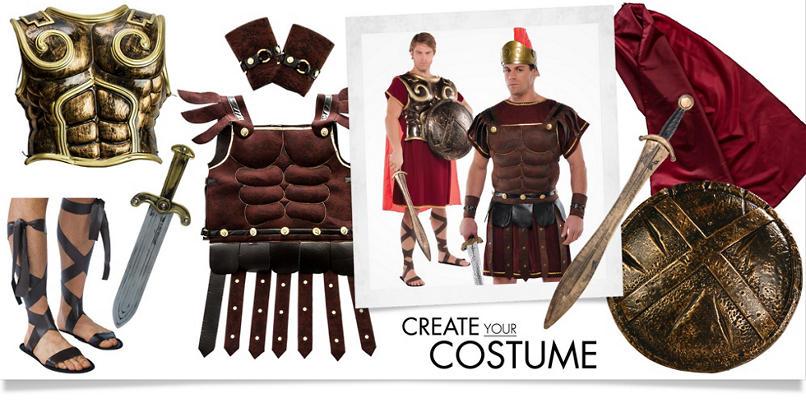 Men's Roman Soldier