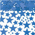 Metallic Blue Star Confetti 2 1/2oz
