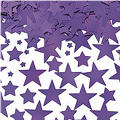 Metallic Purple Star Confetti