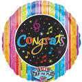 Congrats Balloon - Singing Confetti