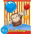 Curious George Favor Bags 8ct