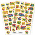Hot Wheels Speed City Stickers 60ct