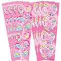 Princess Prismatic Stickers 8 Sheets