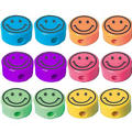 Smiley Pencil Sharpeners 12ct