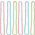 Multicolor Orbit Bead Necklaces 6ct
