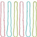Multicolor Orbit Bead Necklaces 6ct