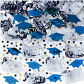 Metallic Royal Blue Graduation Confetti 2 1/2oz