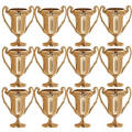 Mini Award Trophies 12ct