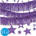 Purple Foil Decorating Kit 21ct