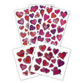 Prismatic Valentine's Day Stickers 5 Sheets