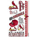 St. Louis Cardinals Tattoos 10ct
