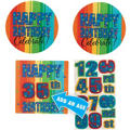 A Year to Celebrate Happy Birthday Custom Cutouts 3ct