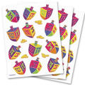 Prismatic Dreidel Stickers 3 Sheets