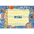 Boys Slumber Party Custom Thank You Note