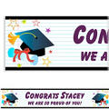 Custom Grad Wishes Banner 6ft