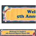 Country Western Custom Banner 6ft