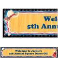 Country Western Custom Banner 6ft