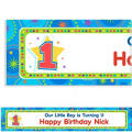One-Derful Boy 1st Birthday Custom Banner 6ft