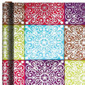 Foil Ornamental Square Gift Wrap 12ft