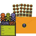 Chills & Thrills Halloween Invitations Value Pack 20ct