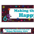 The Party Continues 65 Custom Banner 6ft
