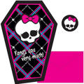 Monster High Thank You Notes 8ct