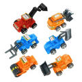 Pull Back Construction Vehicles 6ct