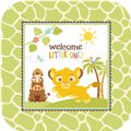 Lion King Baby Shower Dinner Plates 8ct