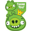 Angry Birds Thank You Notes 8ct