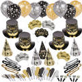 Black Tie Affair New Years <span class=messagesale><br><b>Party Kit For 100</b></br></span>
