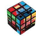 Cars Puzzle Cube