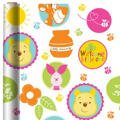 Pooh Baby Days Baby Shower Gift Wrap 8ft