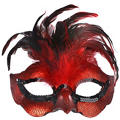 Fire Bird Feather Mask